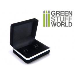 Black Pocket Cufflink Gift Boxes Case