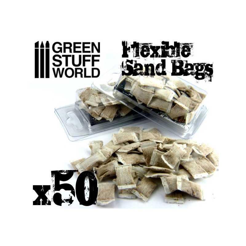 SACOS ARENA flexibles x50