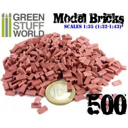 Briques - Rouge x500