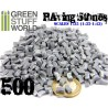 Briques pavés - Gris x500