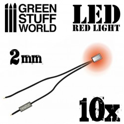 Luces LED ROJAS - 2mm