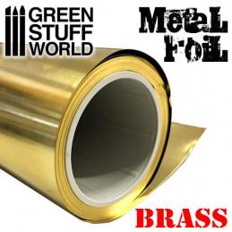 Feuille de métal flexible - LAITON