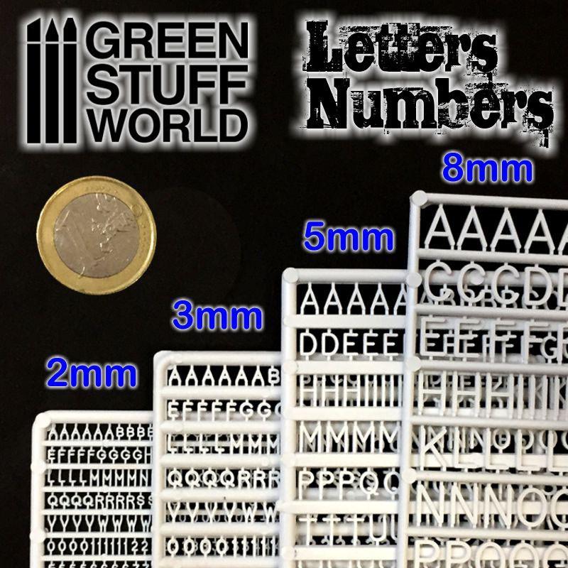 Quattroerre Kit Lettres et Nombres Adh/ésifs R/éfractifs en Plastique