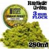 Static Grass Flock - Realistic Green - 280 ml - XL