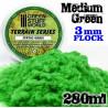 Elektrostatisches Gras - MittelGrün - 280ml - XL