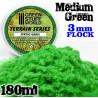 Elektrostatisches Gras - MittelGrün - 180ml - L