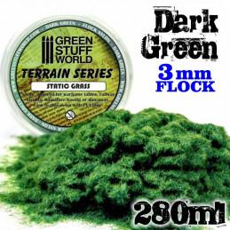 Elektrostatisches Gras - DunkelGrün - 280ml - XL