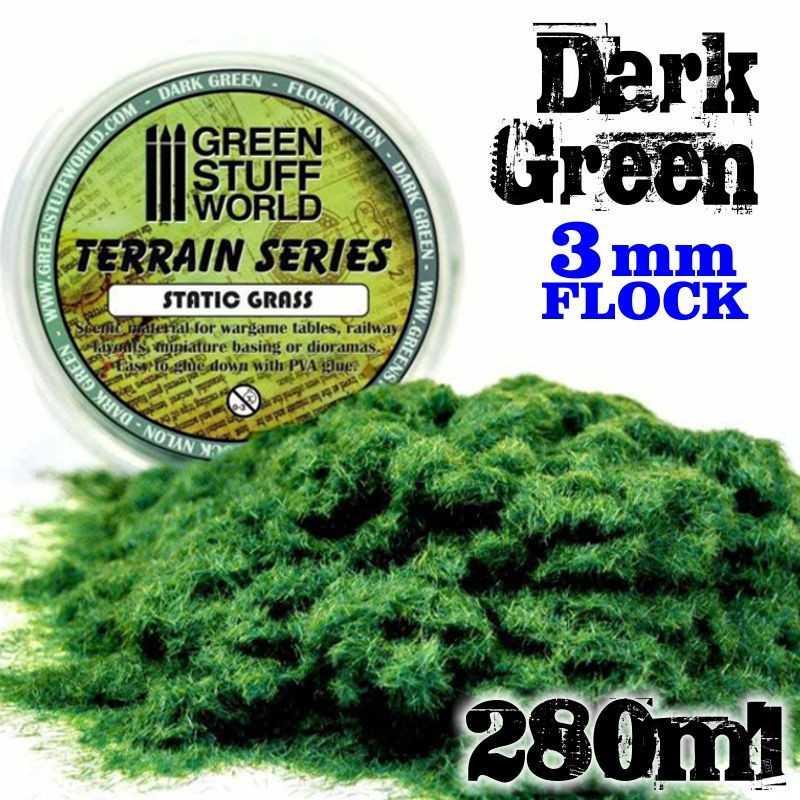 Herbe Statique - Vert Fonce - 280ml - XL