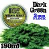 Static Grass Flock - Dark Green - 180 ml - L