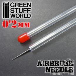 Aiguille d'aérographe 0.2mm