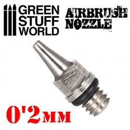 BUSE 0.2mm à Visser pour Aérographe