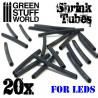 Tubos termoretractiles para LEDs