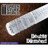 Rolling Pin Double Diamond