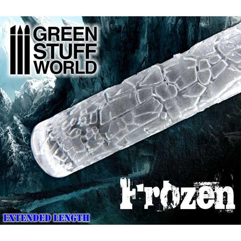 Rodillo Texturizado Tierra Seca - Frozen