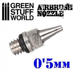 BUSE 0.5mm à Visser pour Aérographe