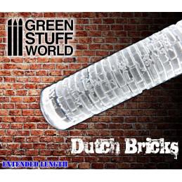 Rouleaux texturés - BRIQUES hollandaise