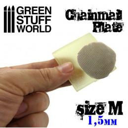Texture Plate - Kettenhemd - Größe M