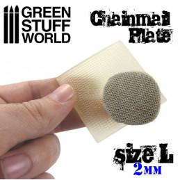 Texture Plate - Kettenhemd - Größe L