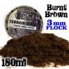 Cesped Electrostatico 3 mm - MARRON QUEMADO - 180 ml