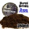 Elektrostatisches Gras 3 mm - Verbrannt Braun - 280ml