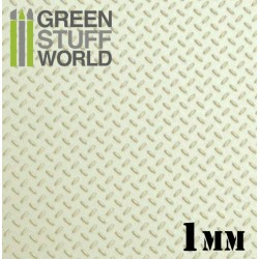 ABS Plasticard - Thread DIAMOND 1mm Textured Sheet