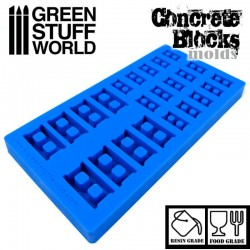 Silicone molds - Concrete Bricks