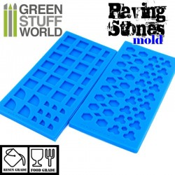 Silicone molds - Paving stones