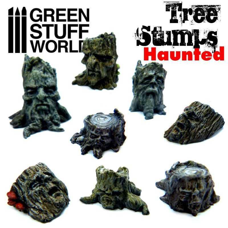 Haunted Tree Stumps