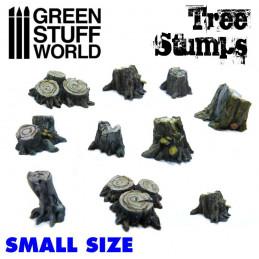 Kleine Baumstümpfe