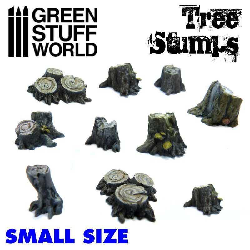 Small Tree Stumps