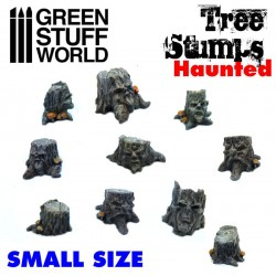 Small Haunted Tree Stumps