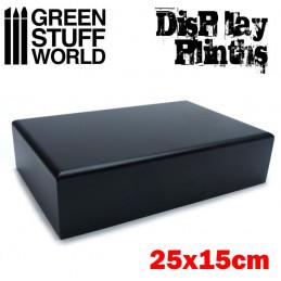 Rectangular Plinth 25x15 cm