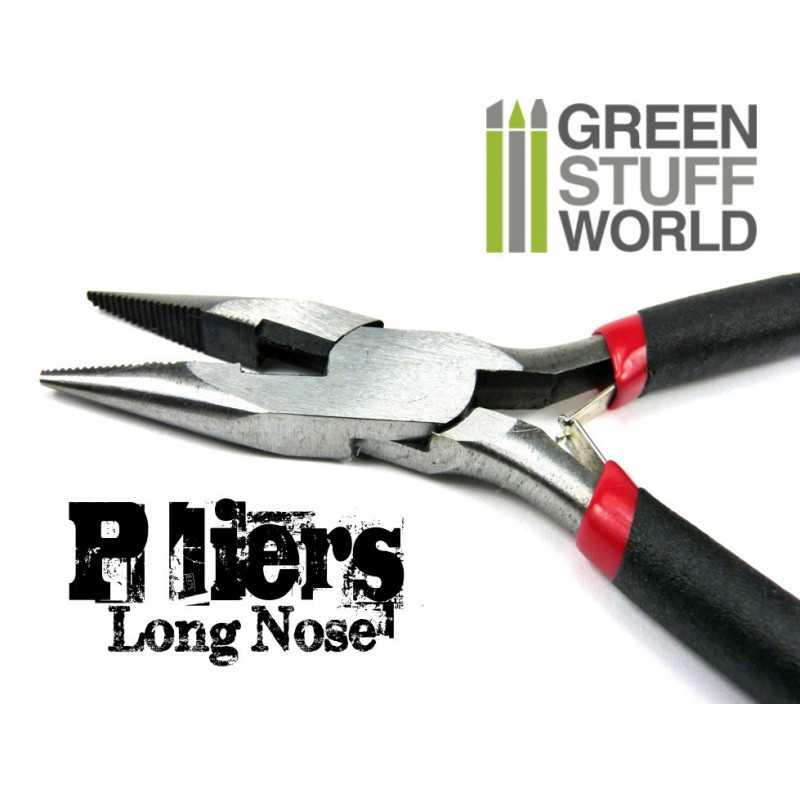 Bent Long Nose Pliers