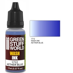 Encre Wash AETHER BLUE