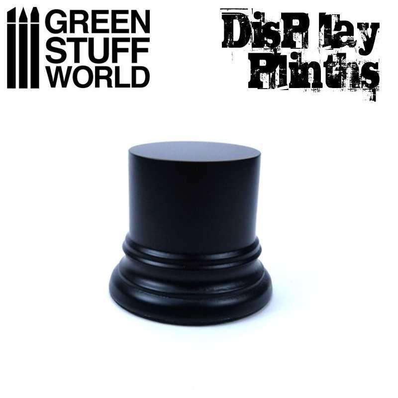 Round Display Plinth 4.5 cm - Black