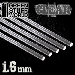 Acrylic Rods - Round 1.6 mm CLEAR