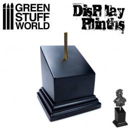 Pedestal Bustos Negro 5x5 cm