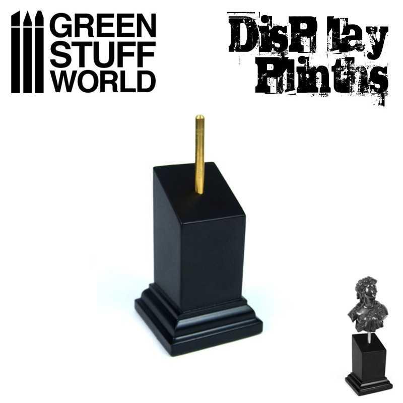 Pedestal Bustos Negro 3x3 cm