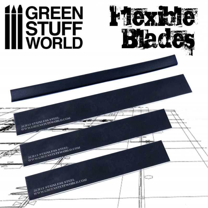 Flexible CLAY blade set