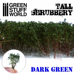 Tall Shrubbery - Dark Green
