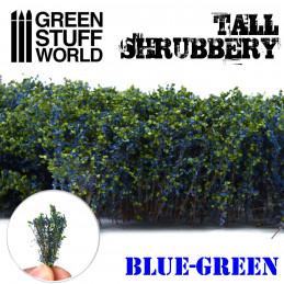 Arbustos Altos - Azul Verde