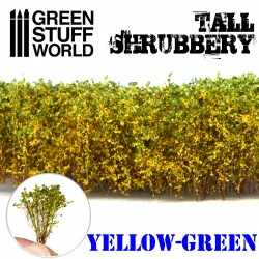 Hohes Gebüsch - Gelb Grün
