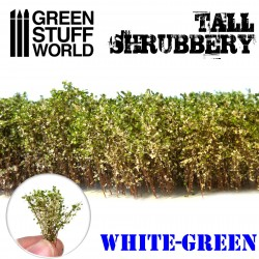 Grands Arbustes - Blanc Vert