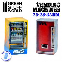 Verkaufsautomat aus Harz