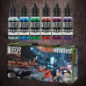 Metallic Paints Set - Colours