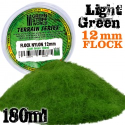 Cesped Electrostatico 12mm - VERDE CLARO - 180 ml