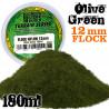 Elektrostatisches Gras 12mm - OlivGrün - 180ml