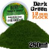 Static Grass Flock 12mm - Dark Green - 280 ml