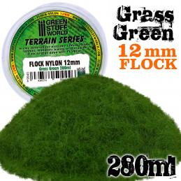 Elektrostatisches Gras 12mm - GrasGrün - 280ml