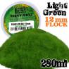 Static Grass Flock 12mm - Light Green - 180 ml